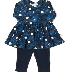 Finn & Emma Sweet Dreams Twirl Dress with Leggings