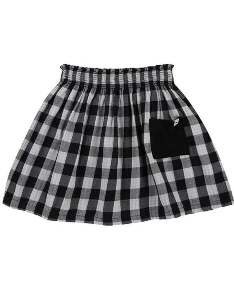 Turtledove London Check Skirt- Reversible