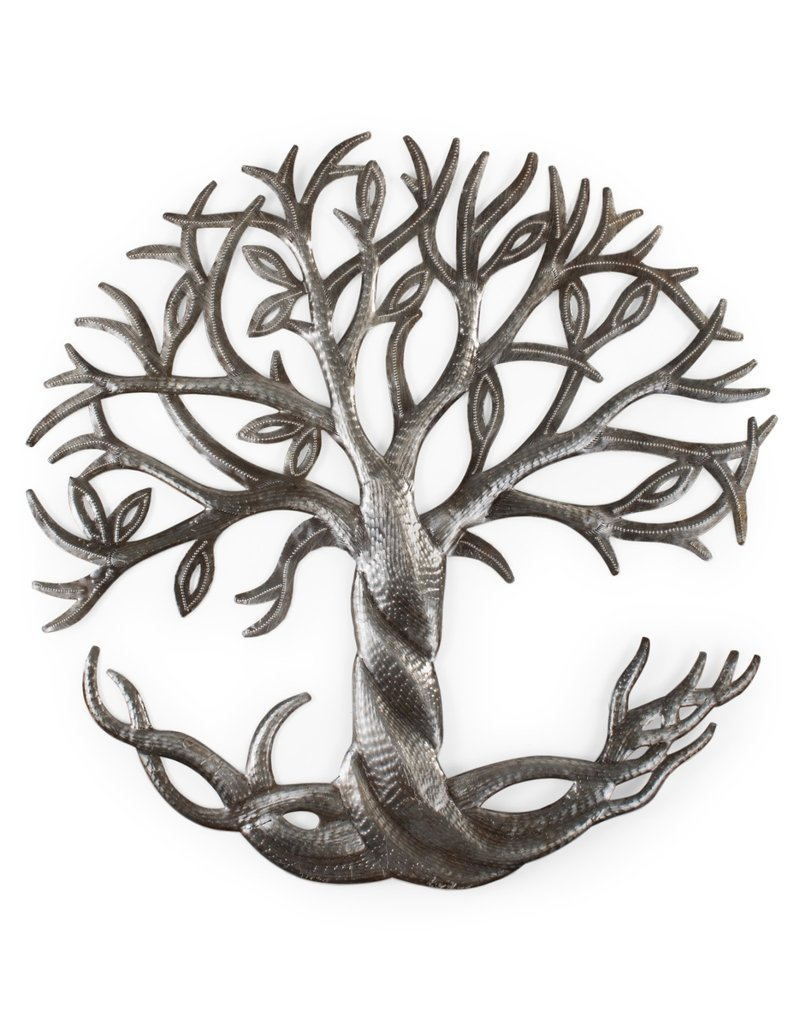 Roots & Leaves Cut Metal Art