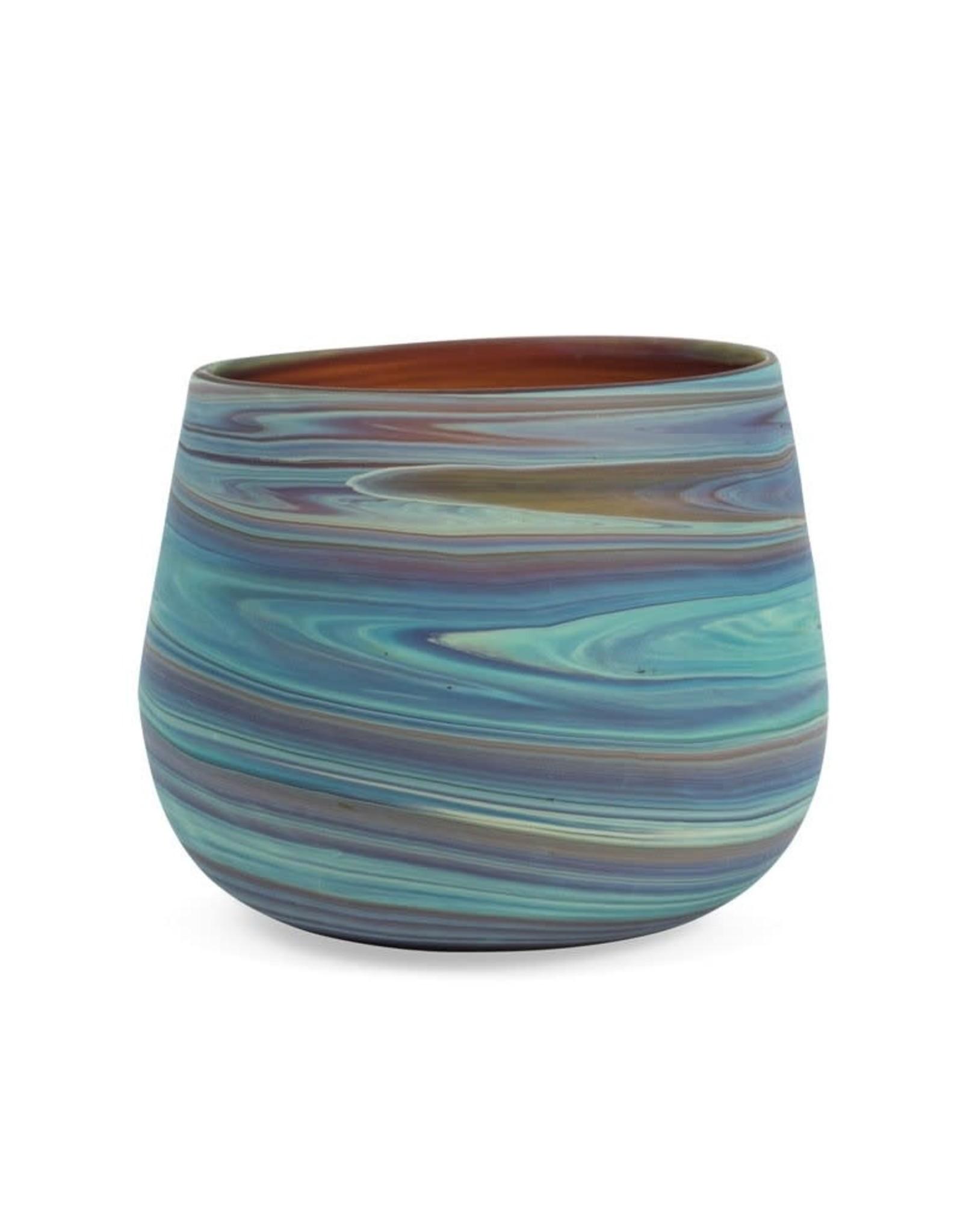 Phoenician Glass Candleholder