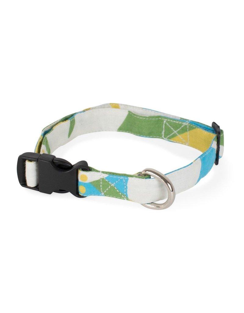 Fetching Fabric Dog Collar