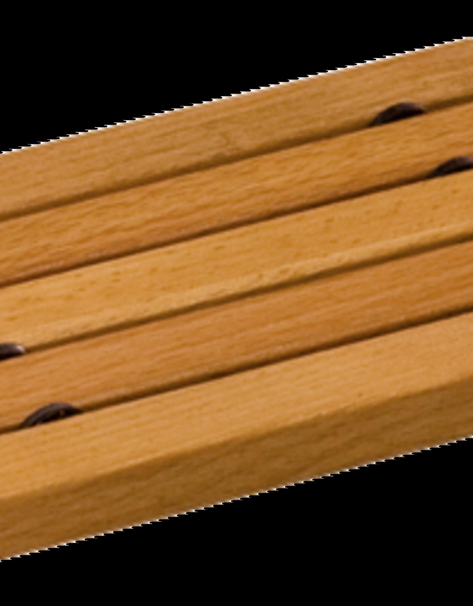 Redecker Wooden Soap Dish- Flat Oiled Beechwood