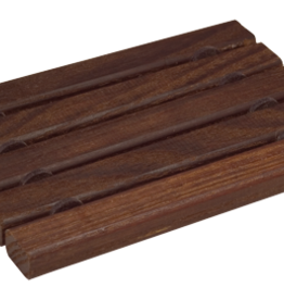 Redecker Wooden Soap Dish- Flat Oiled Thermowood