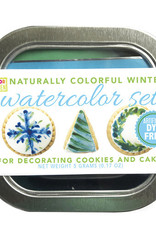 Color Kitchen Watercolor Food Decorating Kit- Holiday