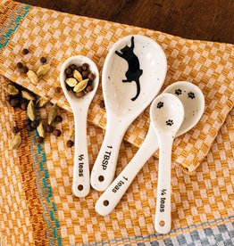 Kitty Prints Measuring Spoons