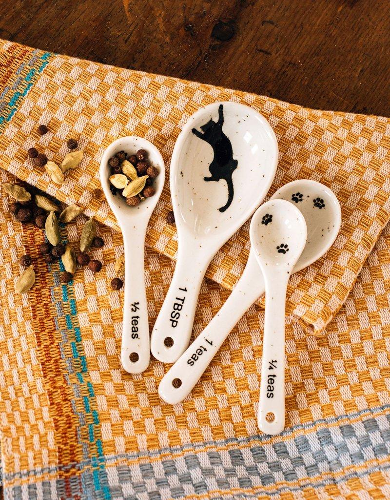 Kitty Prints Measuring Spoons