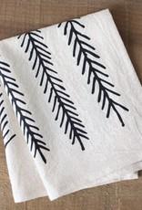 Little Korboose Organic Cotton Cocktail Napkins- Set of 2- Feather
