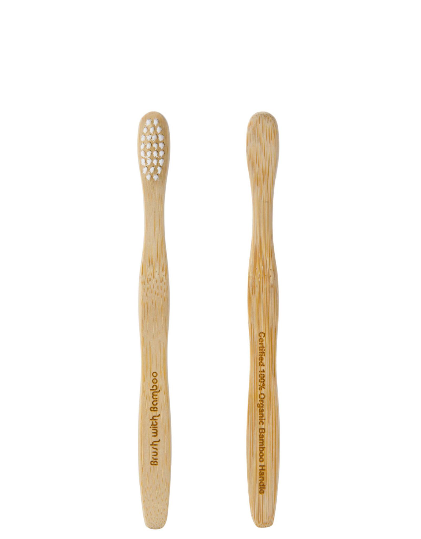 Brush with Bamboo Bamboo Toothbrush Kids