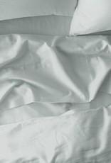Misty Ocean Sateen Duvet Cover, Queen