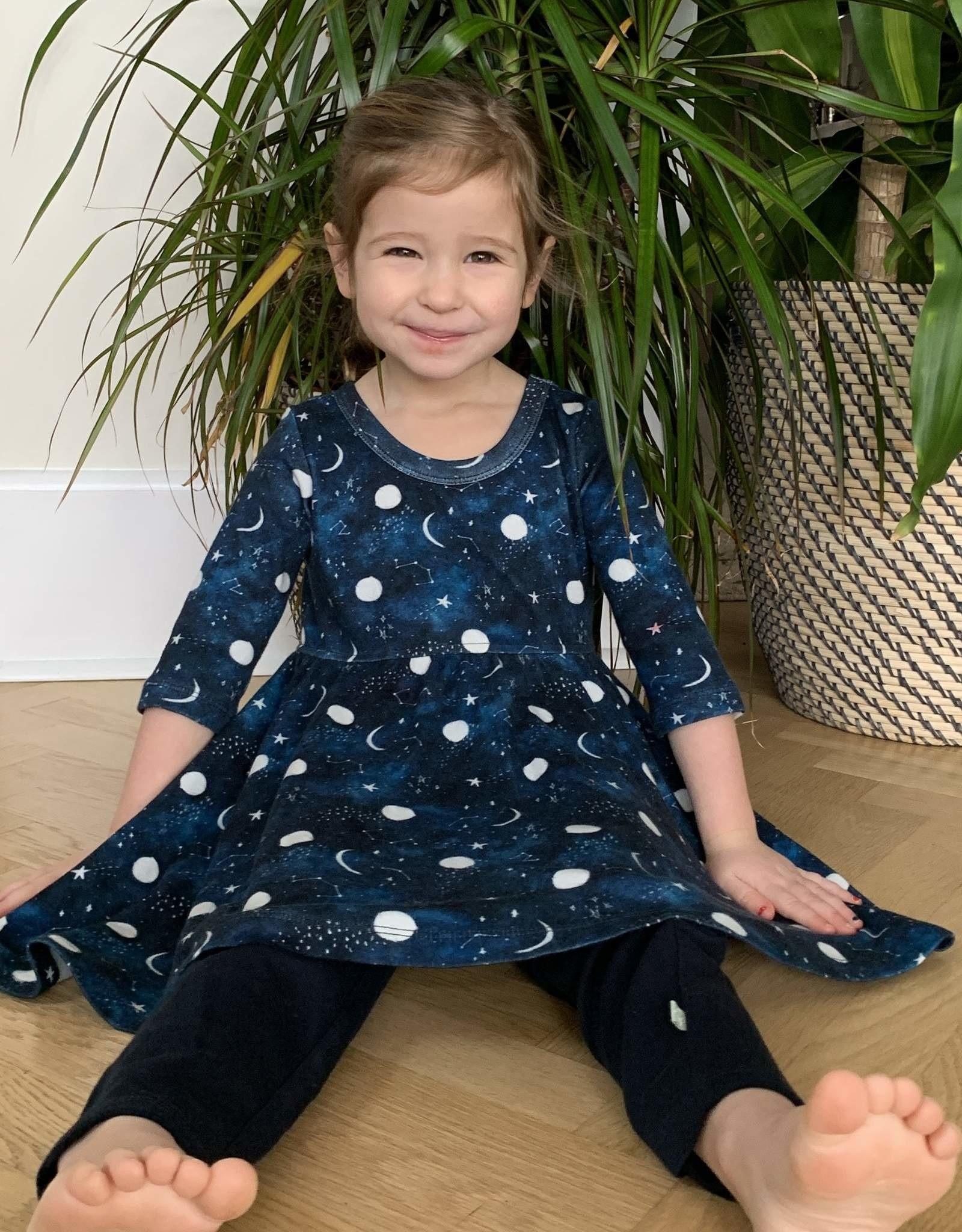 Finn & Emma Sweet Dreams Twirl Dress with Leggings
