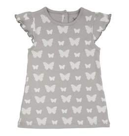 Lily & Mortimer Breezy Dress - Gray Butterfly