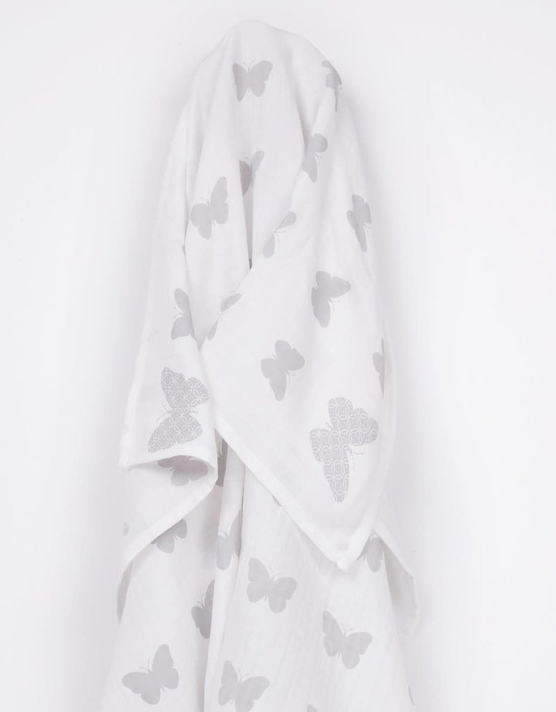 Lily & Mortimer Muslin Swaddle Blanket
