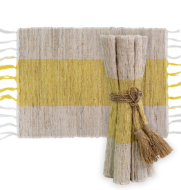Vetiver Table Linens- Sunshine