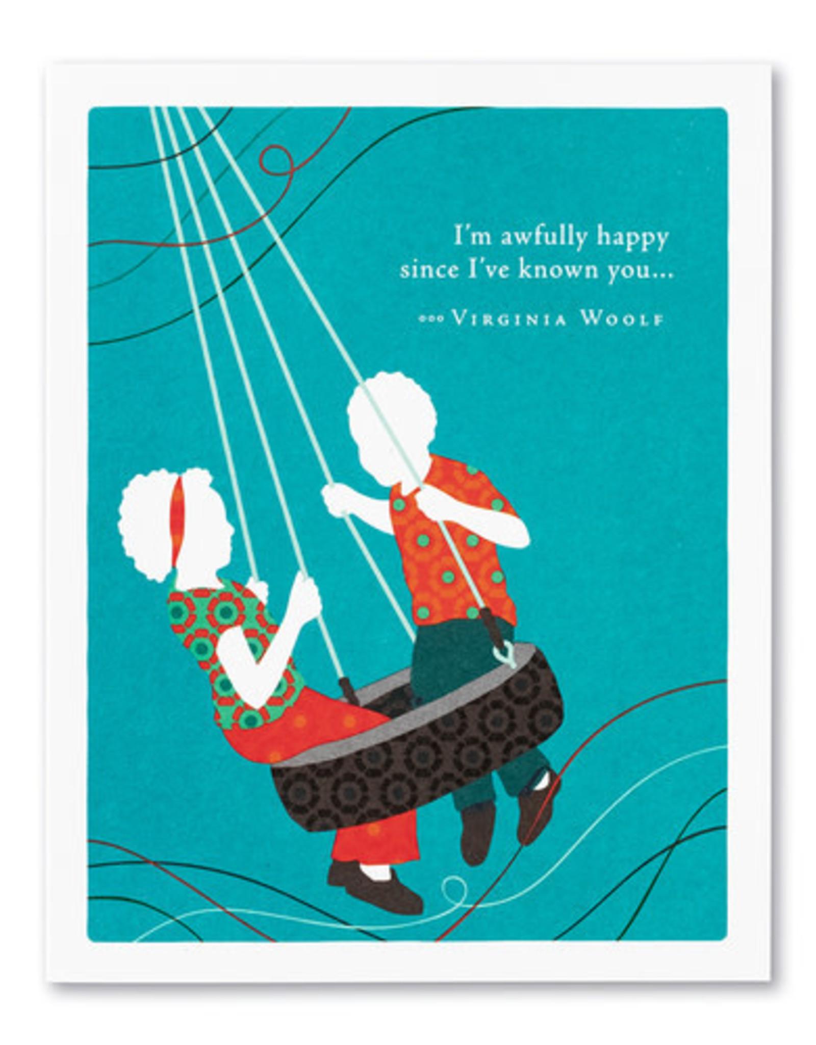 Love & Friendship Card- 8160