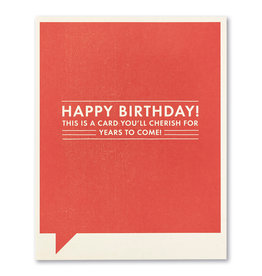 FF Birthday Card- 8171