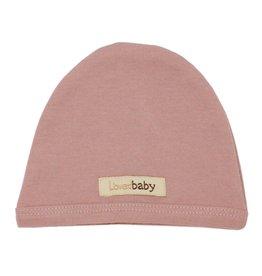 L'oved Baby Organic Cute Cap- Mauve