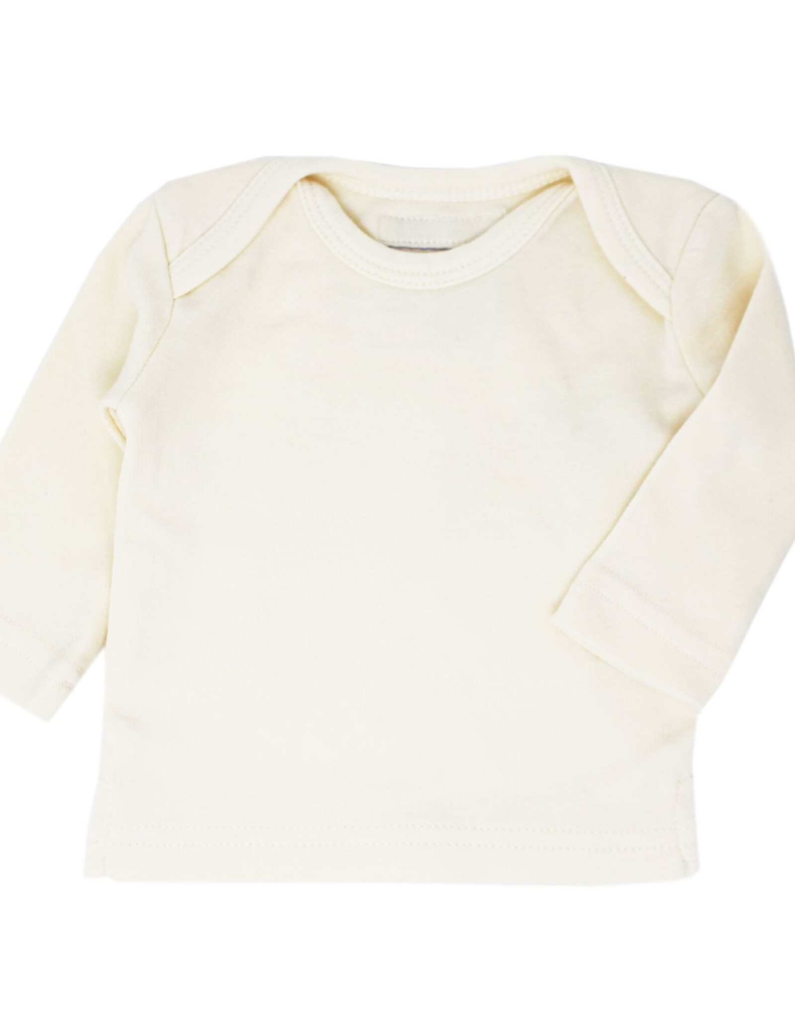 L'oved Baby Organic Cotton Long Sleeve Shirt- Beige