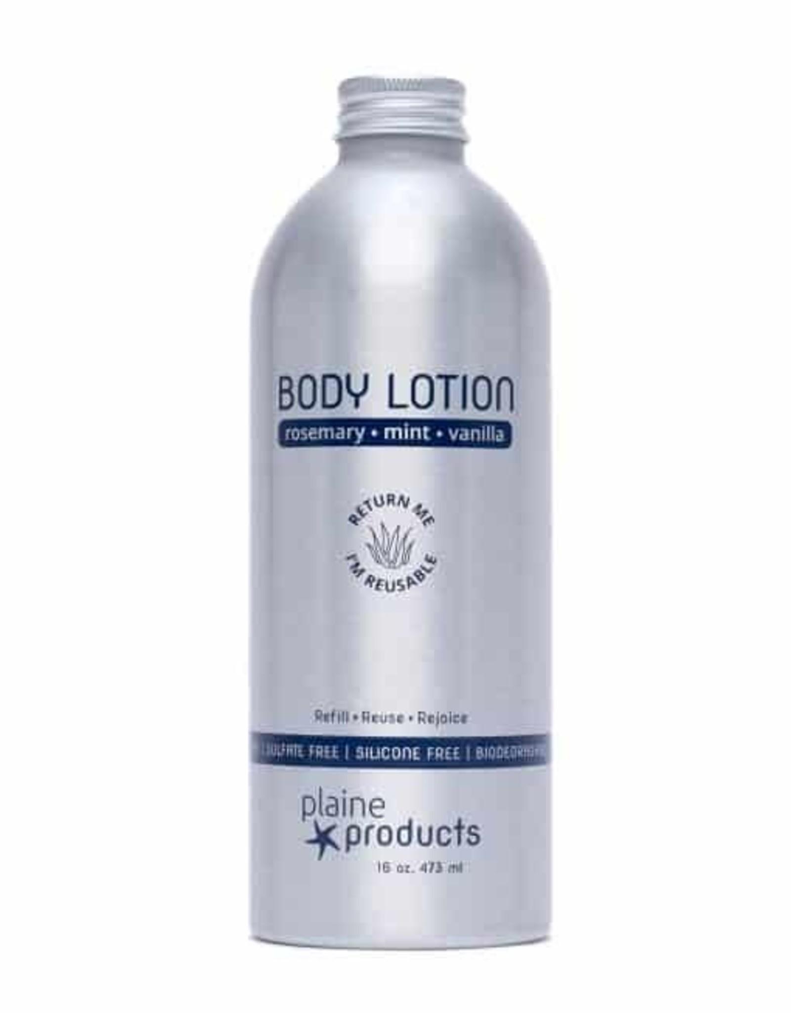 Plaine Products Plaine Body Lotion