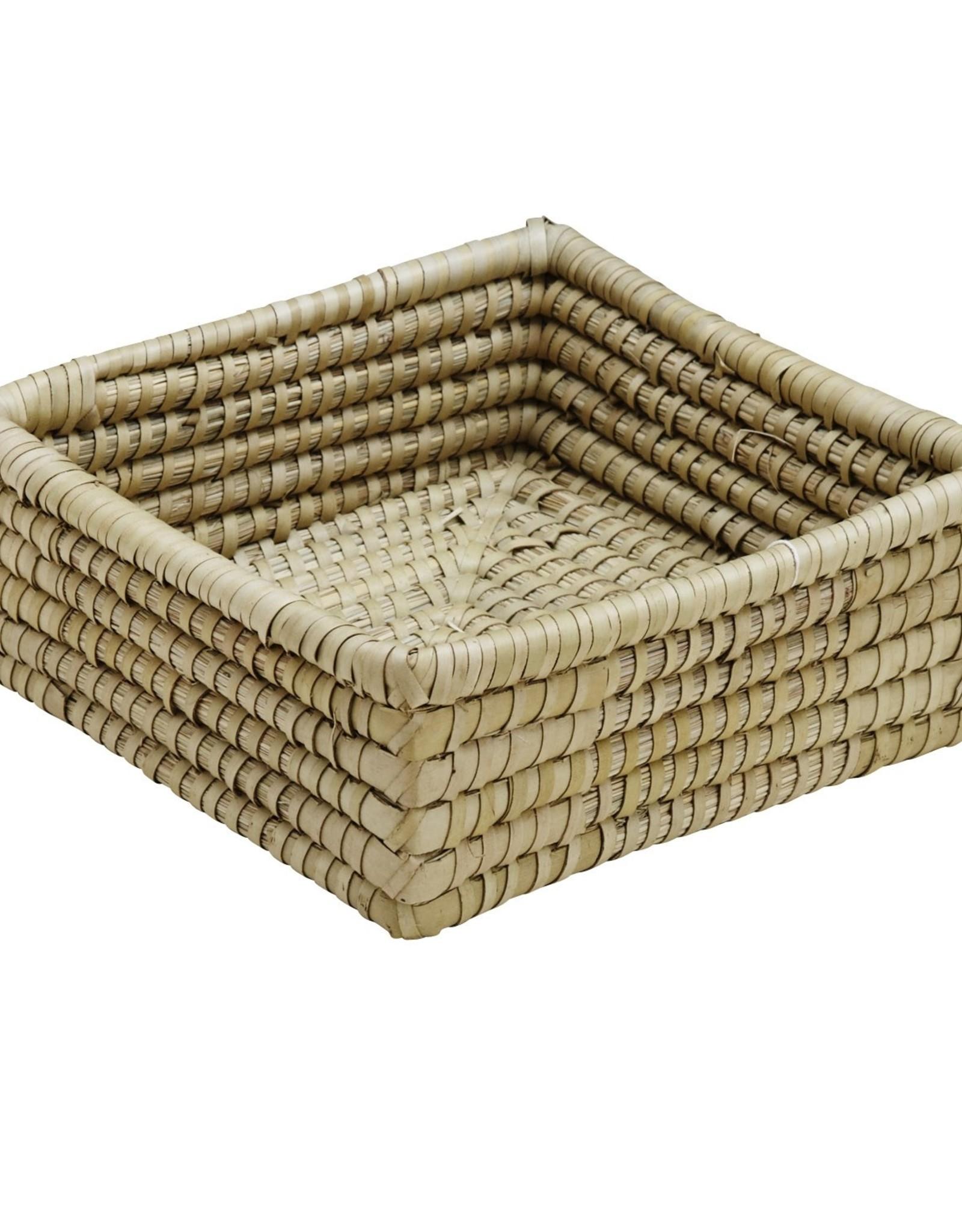Kaisa Grass Square Basket 9x9