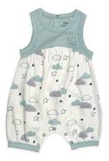 Finn & Emma Dumbo Romper White with Clouds