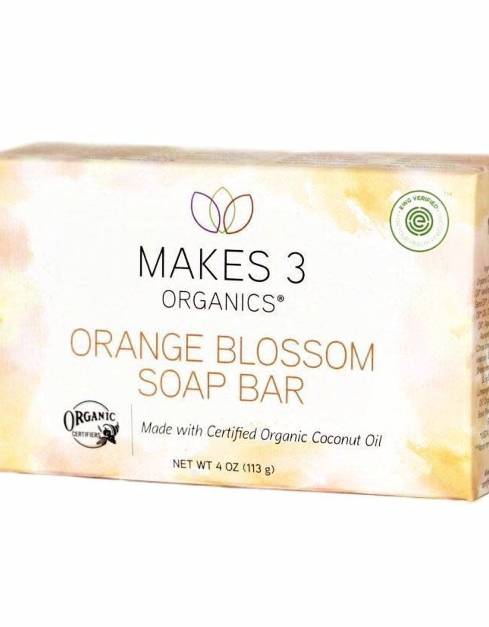 Makes 3 Organic Soap