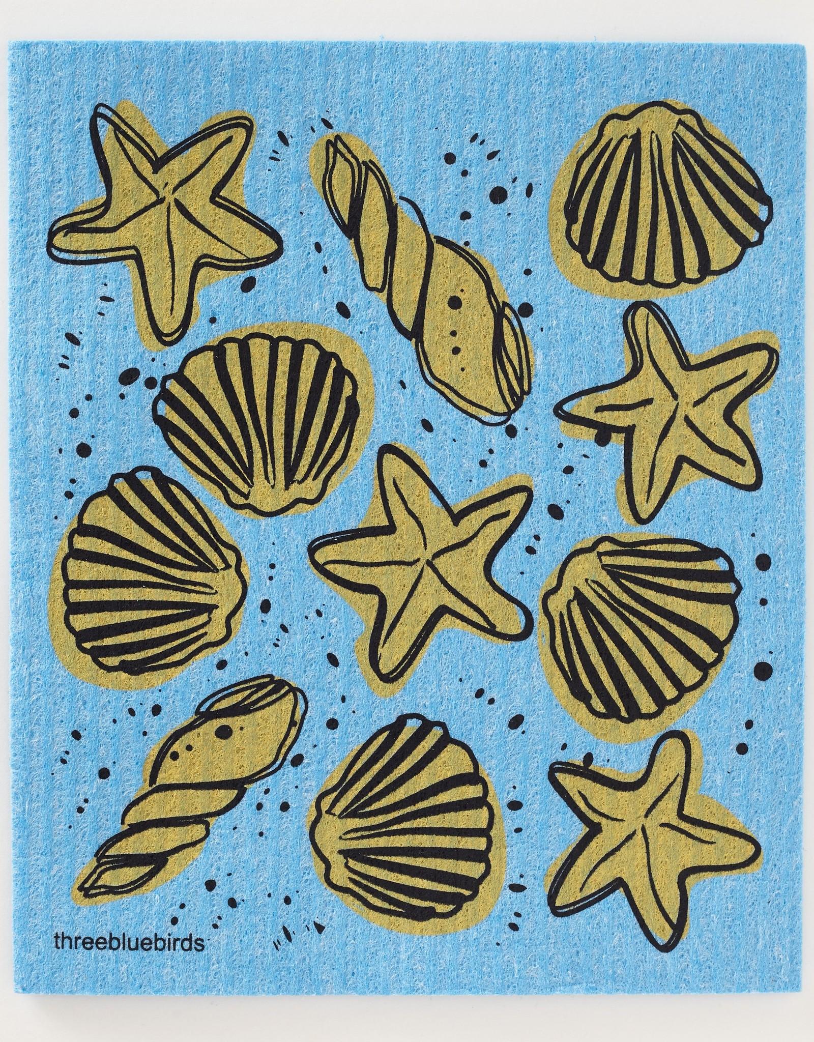 Three Bluebirds Three Bluebirds Swedish Towels- Ocean & Outdoor Designs
