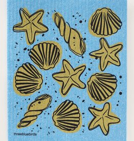 Three Bluebirds Swedish Towels- Ocean & Outdoor Designs