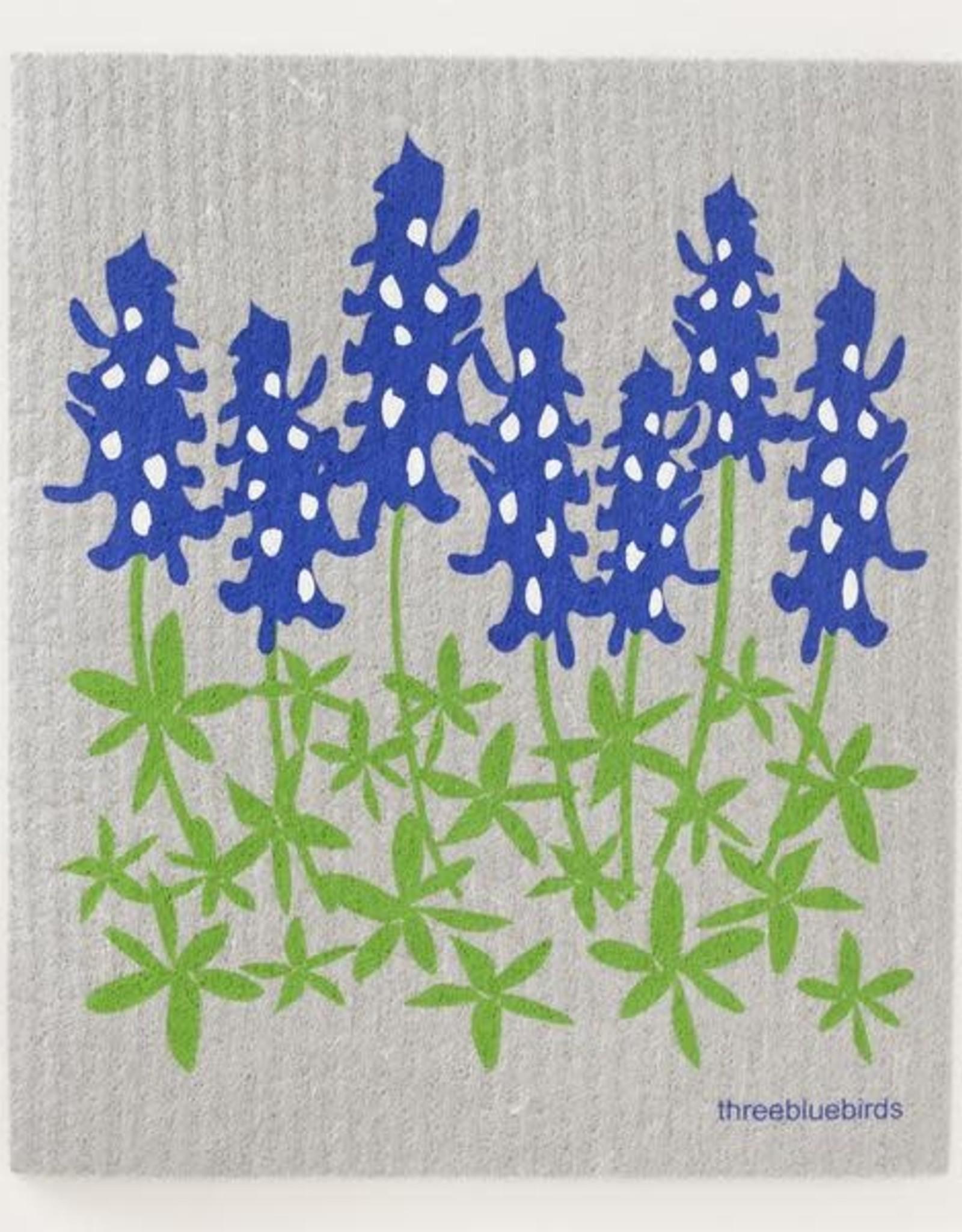 Three Bluebirds Three Bluebirds Swedish Towels- Floral Designs