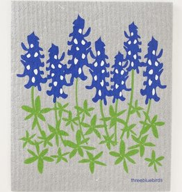 Three Bluebirds Swedish Towels- Floral Designs