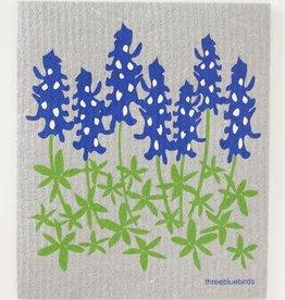 Three Bluebirds Swedish Towels- Floral Designs