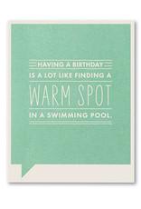 FF Birthday Card- 4720