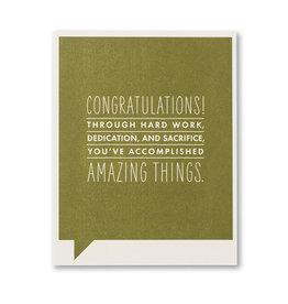 FF Congratulations Card- 7259