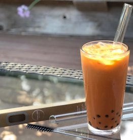 Ocean Ease Glass Boba Straw