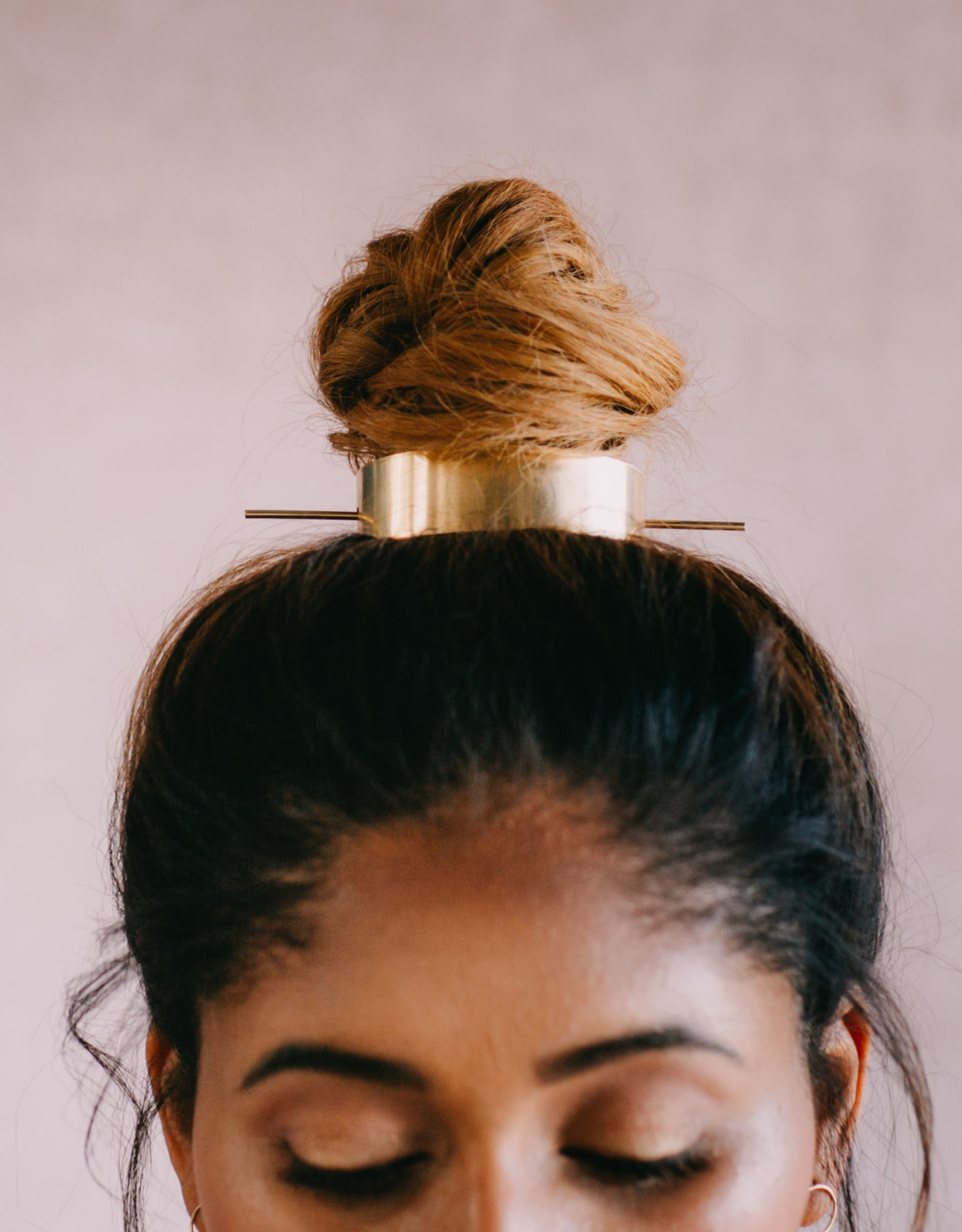 Favor Jewelry Top Knot Crown Hair Pin