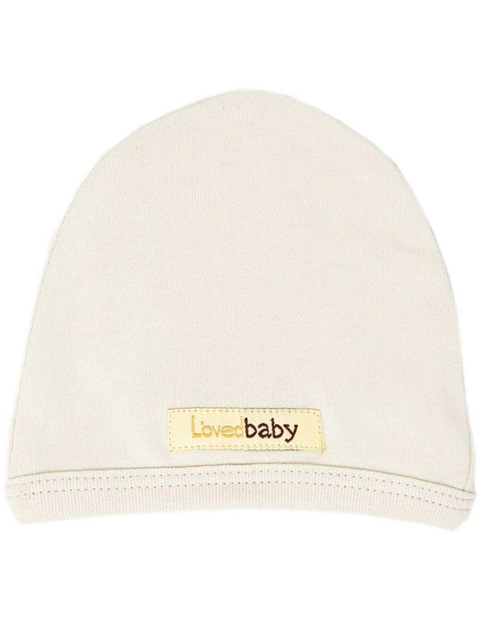 L'oved Baby Organic Cute Cap- Beige