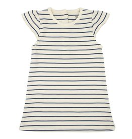 Lily & Mortimer Breezy Dress- Navy Stripe