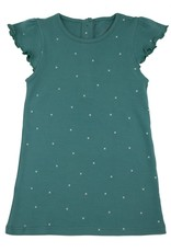 Lily & Mortimer Breezy Dress- Green Stars