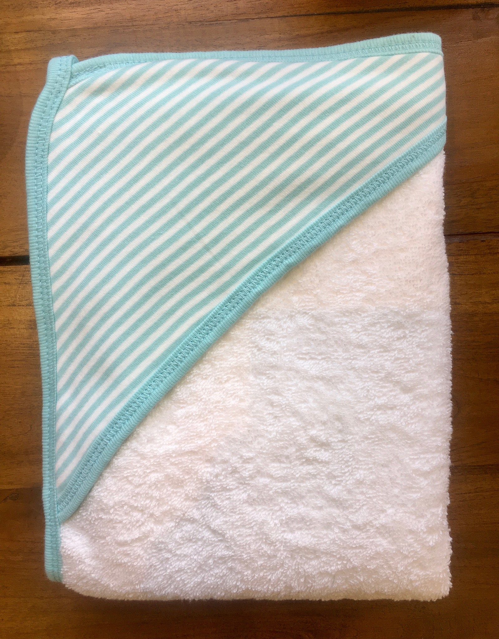 Hooded Towel- Aqua