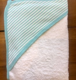 Hooded Towel- Aqua