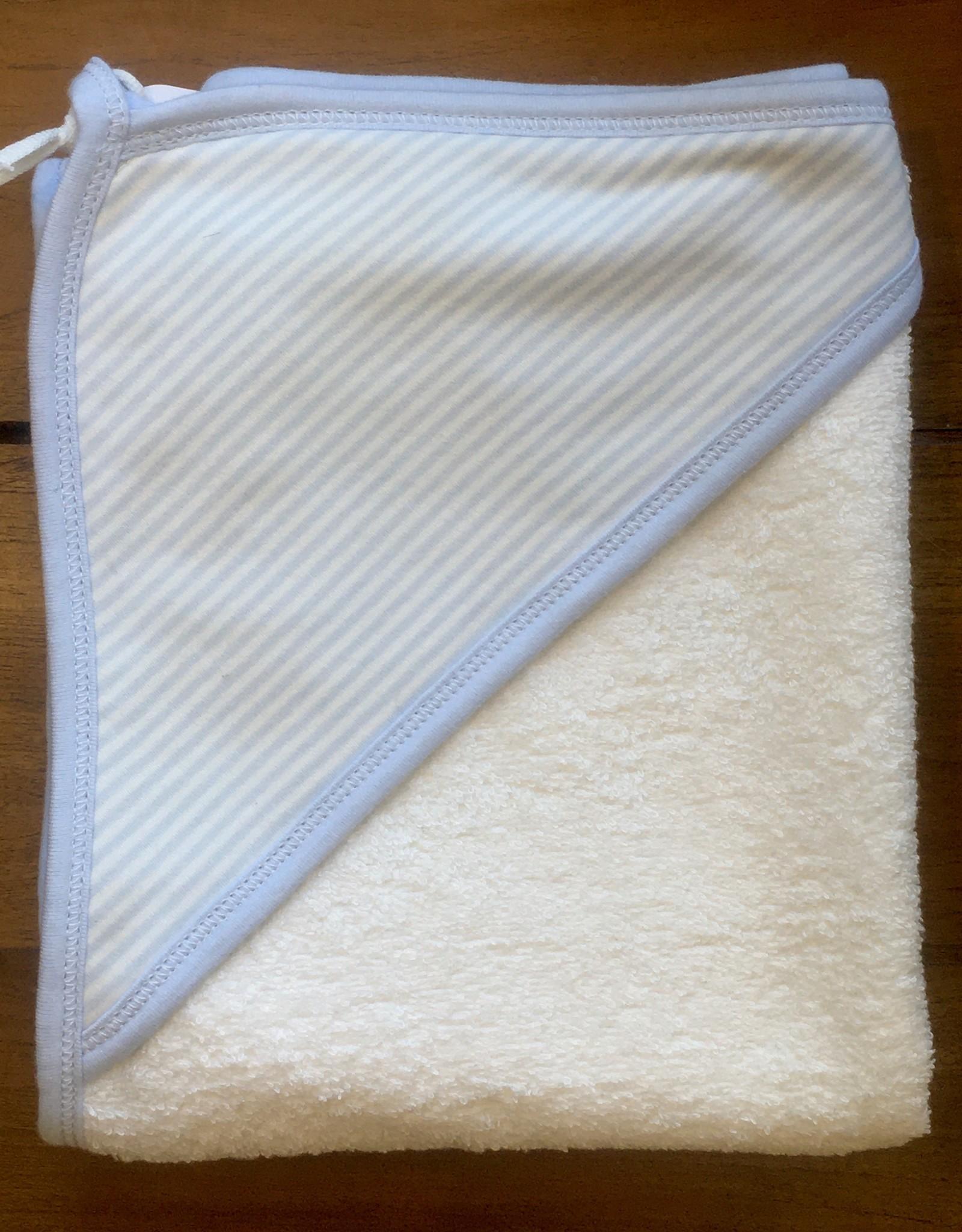 Hooded Towel- Blue