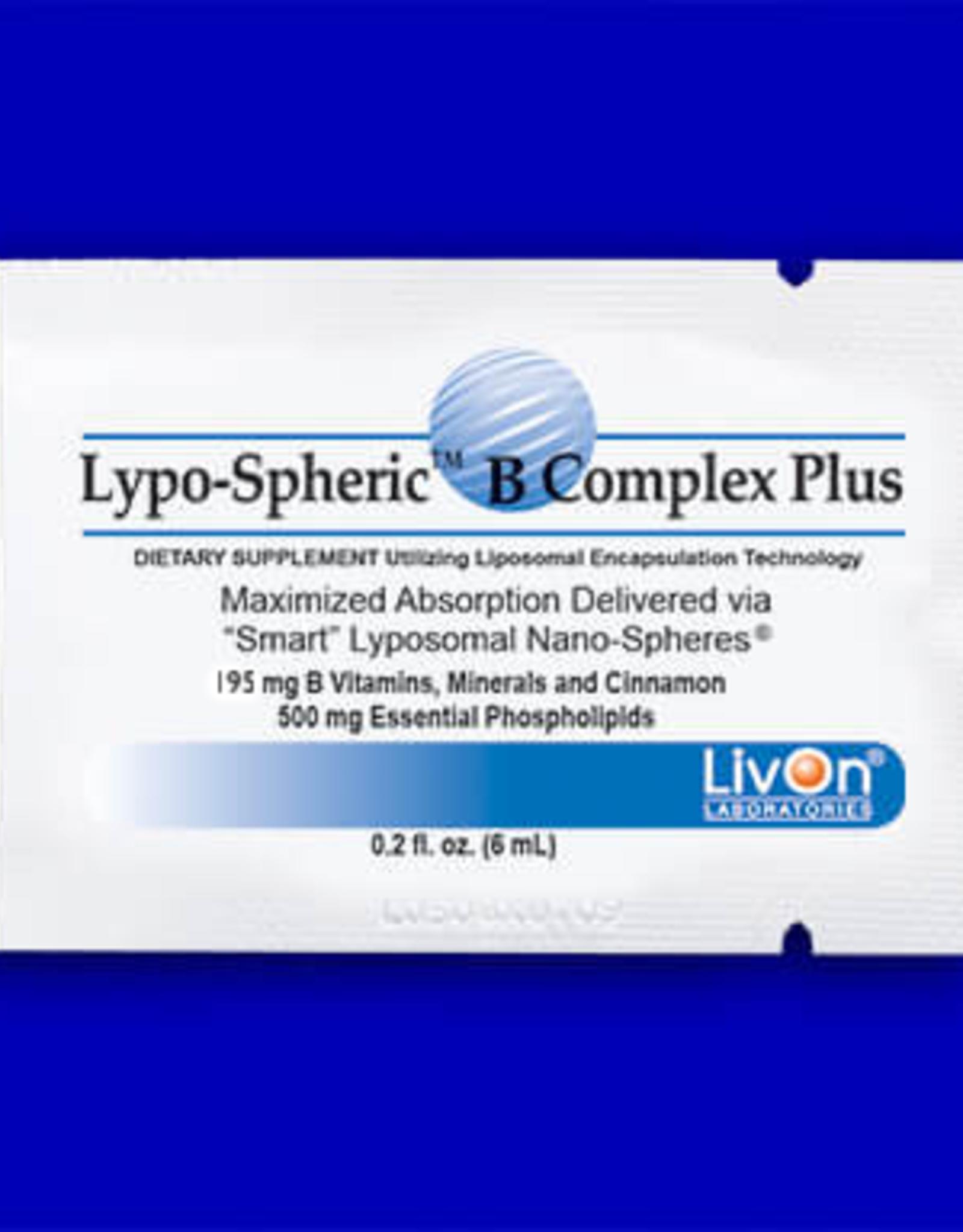 LivOn Labs Lypo-Spheric Vitamin B Complex Plus