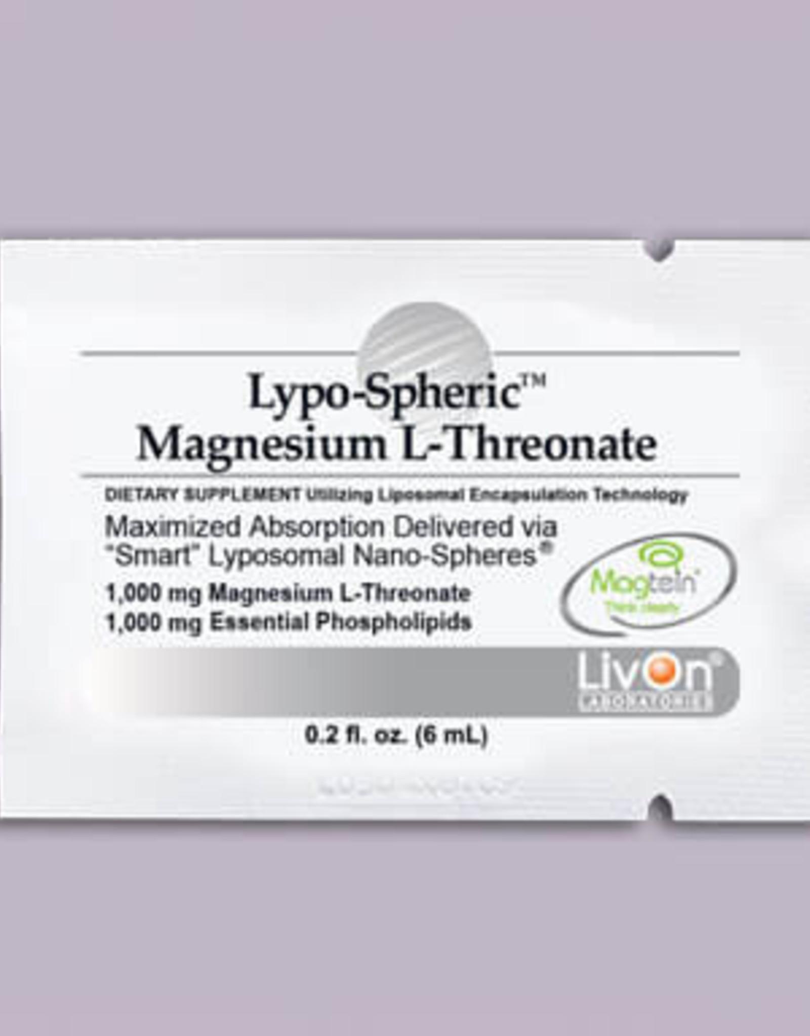 LivOn Labs LivOn Lypo-Spheric Magnesuim L-Threonate