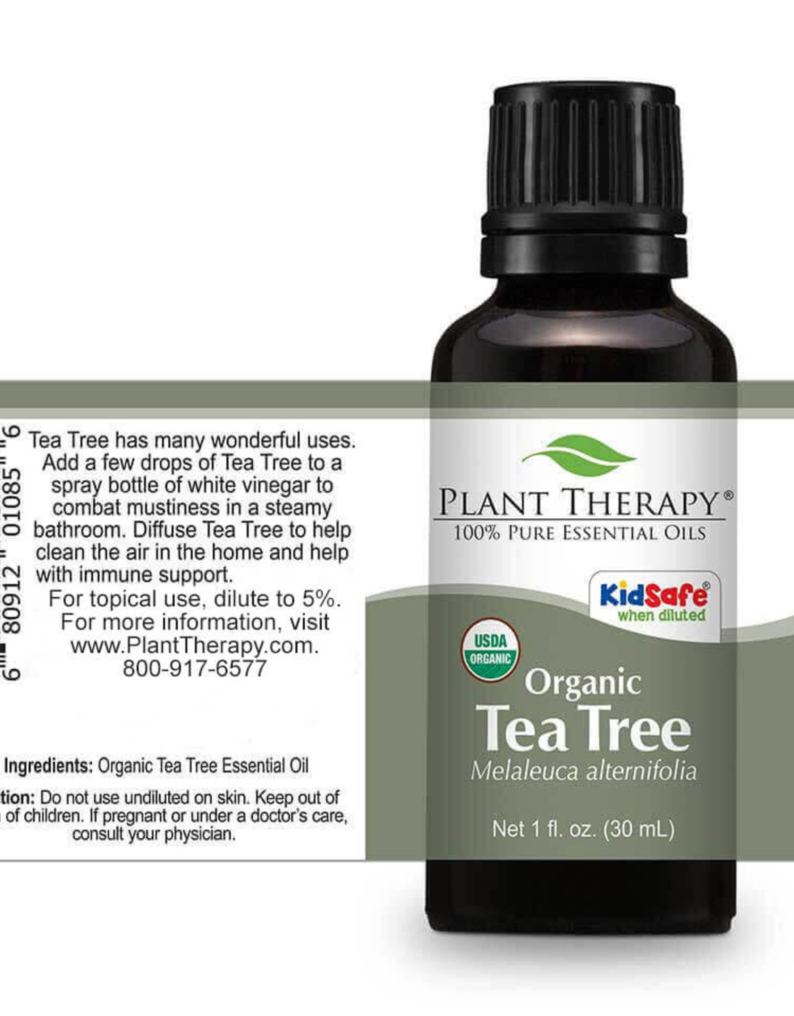 Plant Therapy Organic Tea Tree Essential Oil 30ml