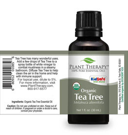 Plant Therapy Organic Tea Tree Essential Oil 30mL