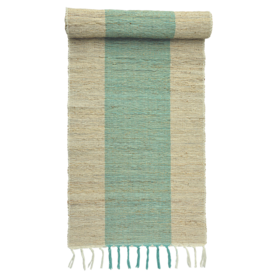 Vetiver Table Linens- Turquoise