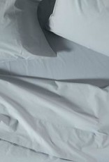 220 Percale Sheet Set-Palest Ocean, King