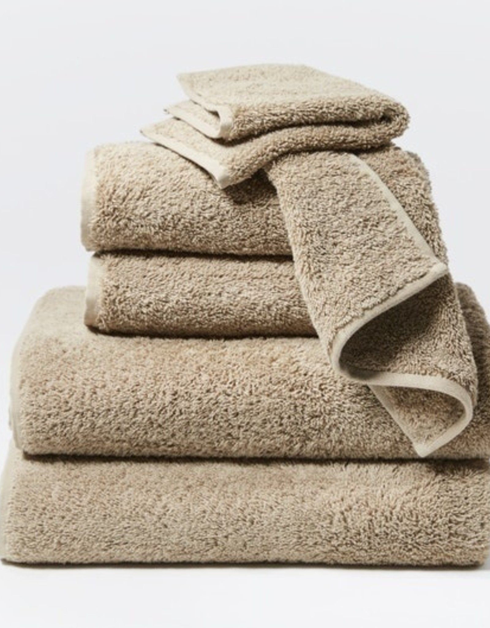 Cloud Loom Towels- 6 Piece Set Taupe