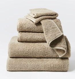 Cloud Loom Towels- 6 Piece Set Taupe
