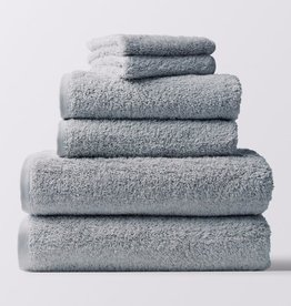Cloud Loom Towels- 6 Piece Set Palest Ocean