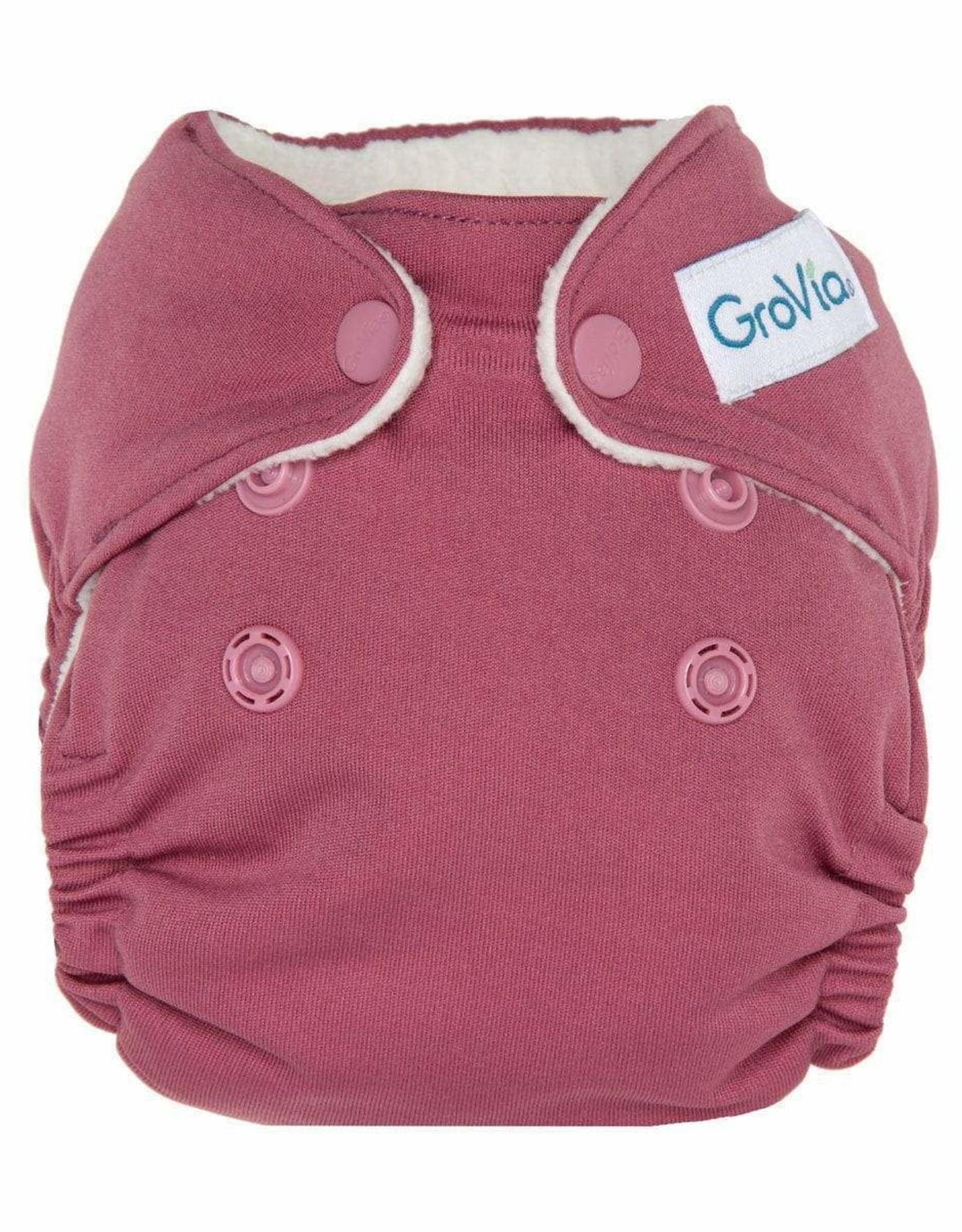 Newborn All in One Cloth Diapers- Petal